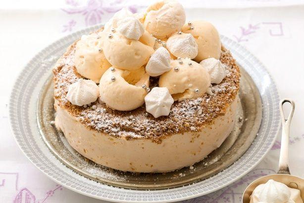 Lemon meringue ice-cream cake | Sweet: Special Occasion Cakes | Pinte ...