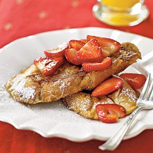 Pain Perdu (lighter version of french toast)