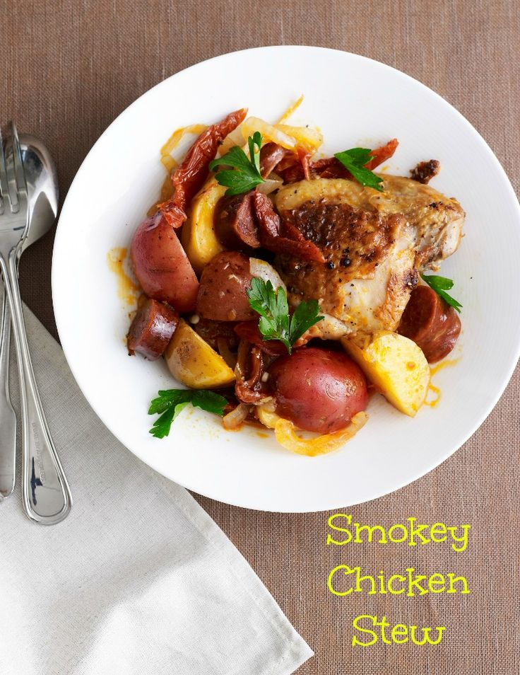 Smoky Chicken and Sausage Stew