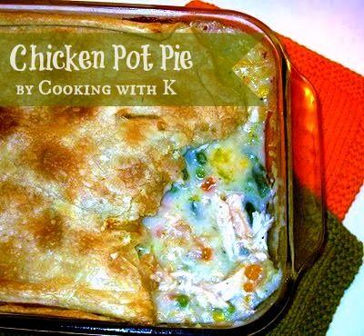 Cooking with K: Old Fashioned Chicken Pot Pie - I love chicken pot pie ...