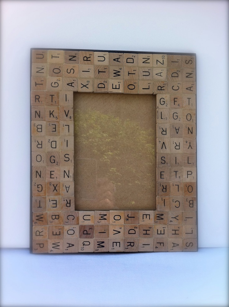 All Mixed Up Made To Order 5 X 7 Scrabble Tiles Frame