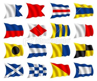 sailing signal flags
