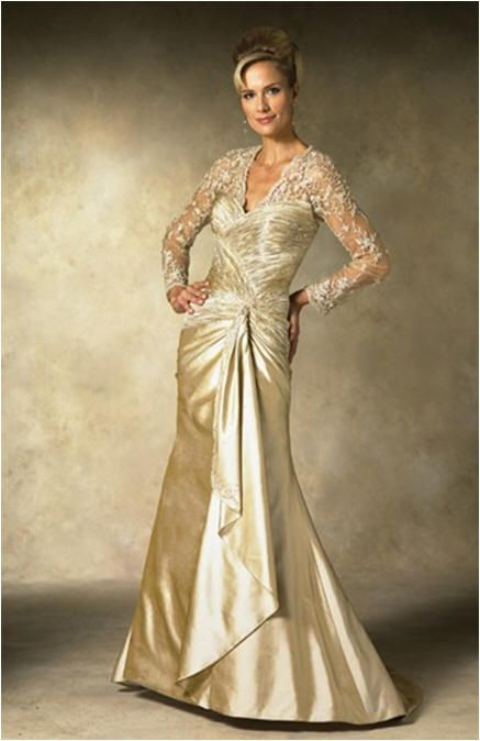 Pin by donna pinney on wedding dresses for the older bride for Wedding appropriate dresses