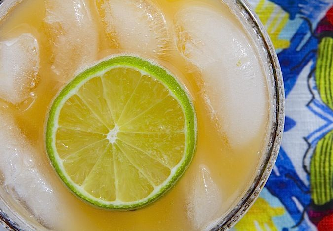 Smokey Cantaloupe Lime Cocktail | Adult Beverages | Pinterest