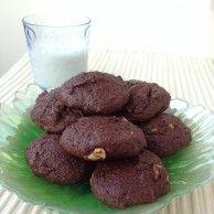 Hazelnut Espresso cookies...perfect with a glass of milk