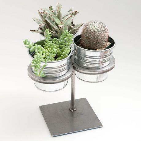 Three Ring Plant Stand For Herbs Garden Pinterest