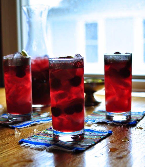 Hola! Jalapeño: Sour Cherry Caipirinha | 4th of July | Pinterest