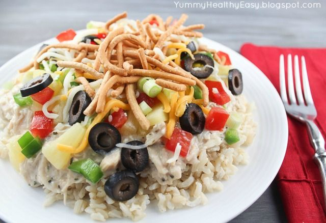 Hawaiian Haystacks aka Chicken Sundaes - Super easy meal to throw ...
