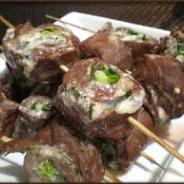 Flank steak pinwheels! Ingredients 1 large flank steak, butterflied ...