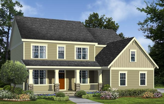 Beazer Homes Ashford Model At Willowsford Dream Homes Pinterest