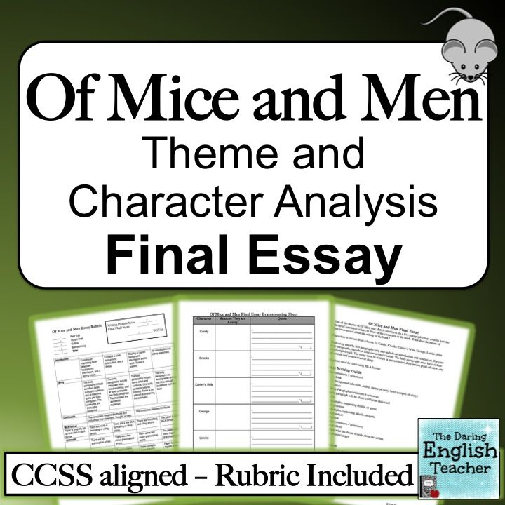Mice and Men Character Analysis