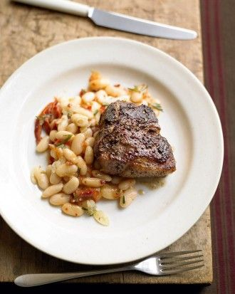 "See the ""Lamb and White Beans with Rosemary"" in our gallery"