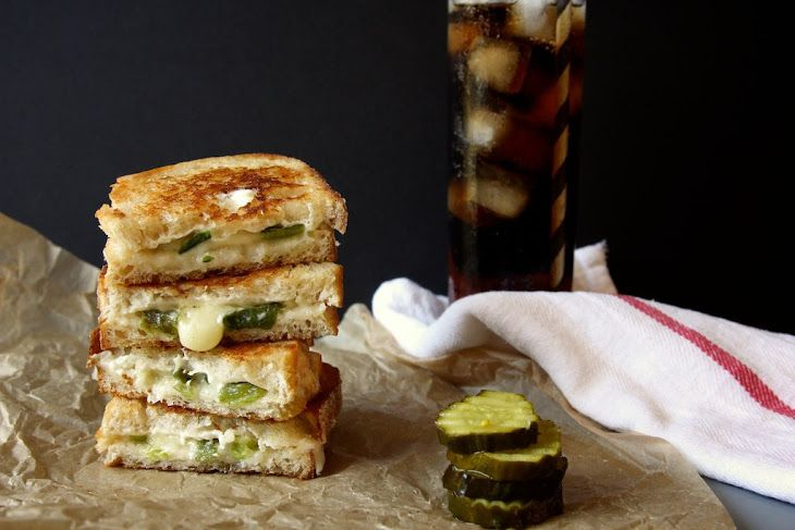 Pepper Jack Grilled Cheese Sandwiches | Food ideas | Pinterest