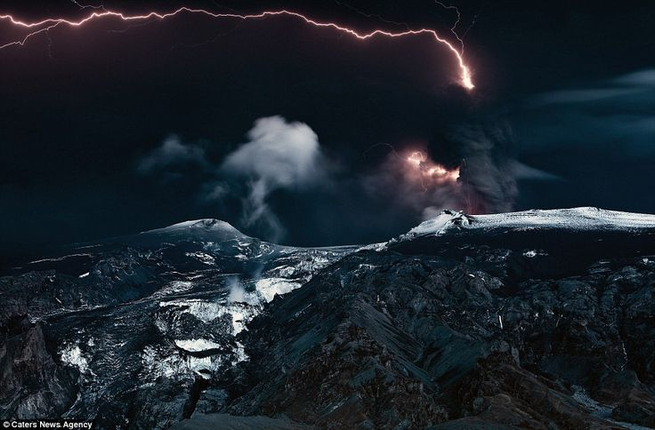 Explosive images daredevil captures the volatile majesty of lava spi