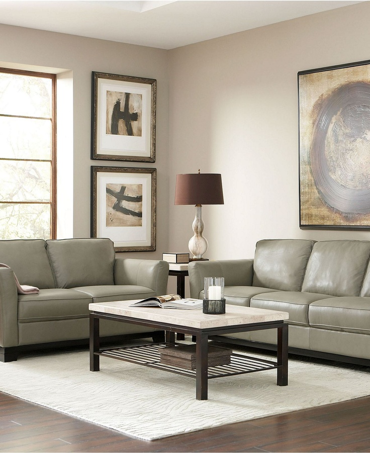 Turin Leather Living Room Furniture Sets Pieces Living