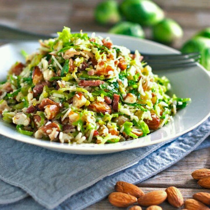 Bacon n Brussel sprouts | food | Pinterest