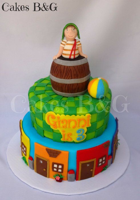 El chavo del Ocho themed cake - by cakesbg @ CakesDecor.com - cake decorating website