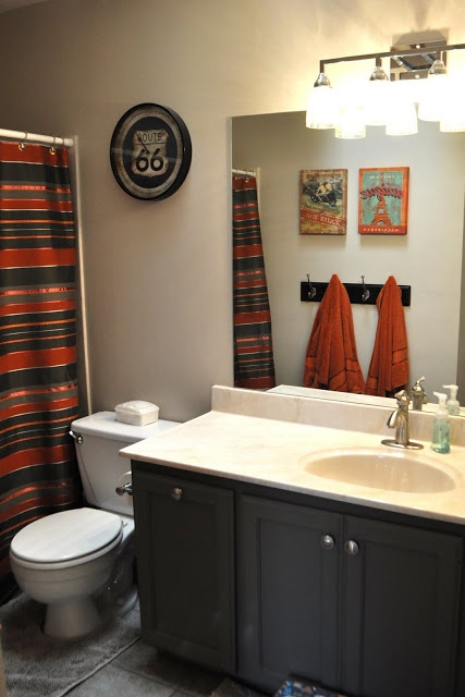 Boys Bathroom Colors For The Home Pinterest