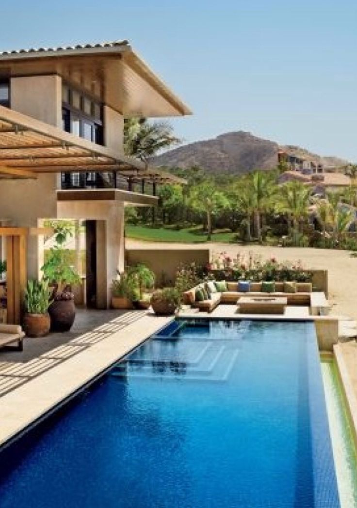 Luxury Pools Homes In Florida Dive In Pinterest