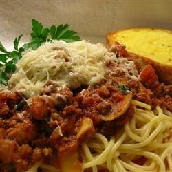 Spaghetti Sauce III Allrecipes.com | Recipes - Appetizers and Dips ...