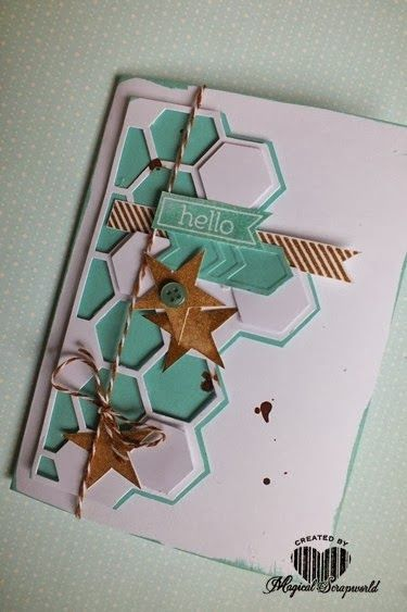 Magical Scrapworld, Stampin' Up! card