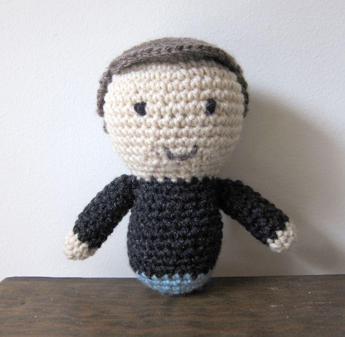 Amigurumi Hair Boy : Minis - boy hair Crochet Amigurumi and Toys Pinterest