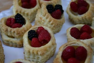 how to make puff pastry shells from scratch