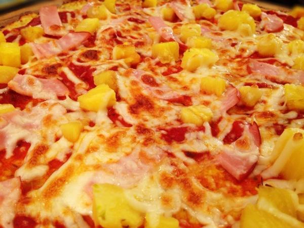 Eat Fit Not Fat- Cauliflower Crust Hawaiian Pizza!