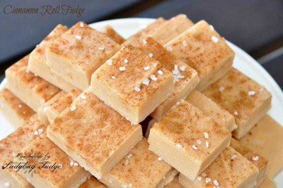 Cinnamon Roll Fudge by Ladybug Fudge