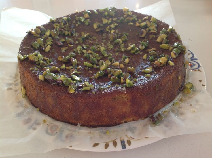 Orange And Hazelnut Cake With Orange Flower Syrup Recipes — Dishmaps