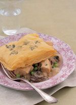 Chicken and Mushroom Pot Pie with Herb Phyllo Crust - Delish.com