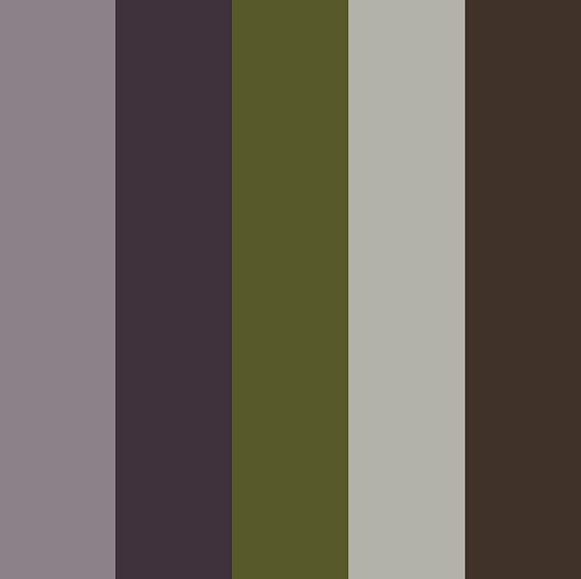 Adobe kuler muted purple olive look book colours - Muted purple paint colors ...