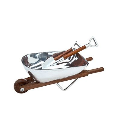 Design Kitchen Online on Take A Look At This Wheelbarrow Salad Bowl   Server Set By Godinger On