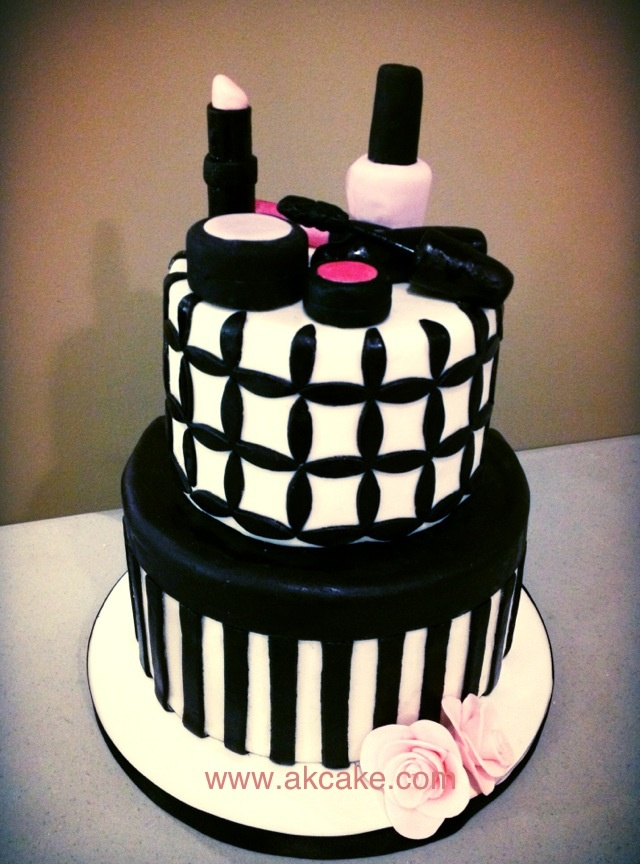 Makeup Cake Pictures : Makeup Cake. Caution ADULT Mature Content birthday cakes ...