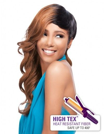 Outre Quick Weave Complete Cap Synthetic Hair Wig - Glam Cut (HighTex)