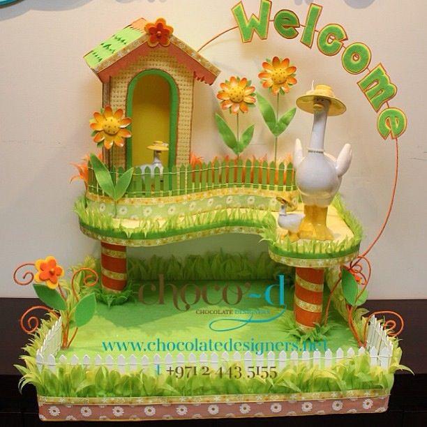 Display Baby Shower: Baby Shower Chocolate Tray Display