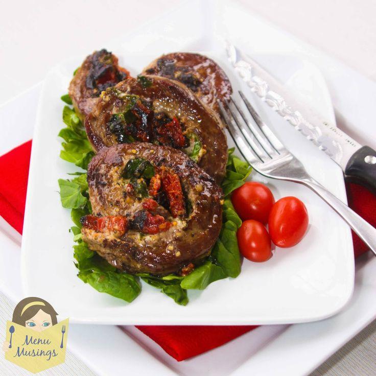 ... sun dried tomatoes, fresh baby spinach & Romano Basil Vinaigrette. By