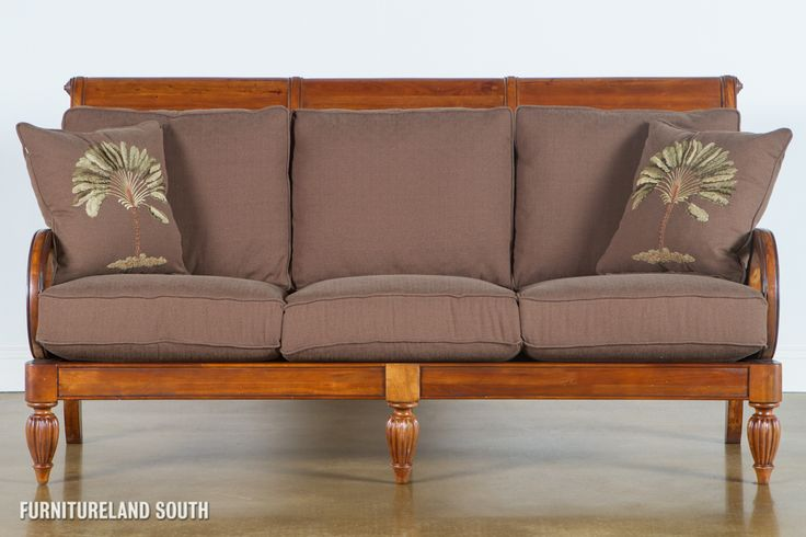 Wooden Sofa With Cushions ~ Wood frame sofa with cushions awesome couch