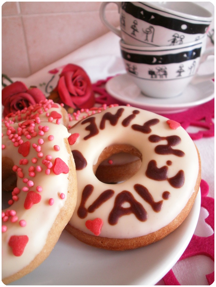 Valentine's Donuts | My sweets | Pinterest