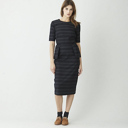 Cotton Selina dress with peplum by Steven Alan.