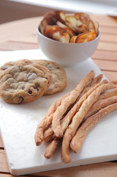 ... chocolate-chip cookies (from Joanne Chang's fantastic new baking