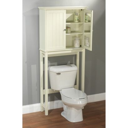 tms jake over toilet etagere antique white. Black Bedroom Furniture Sets. Home Design Ideas