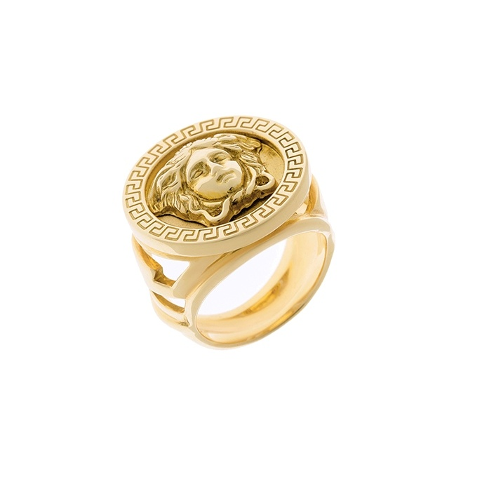 versace jewelry gold ring the clothes on my back