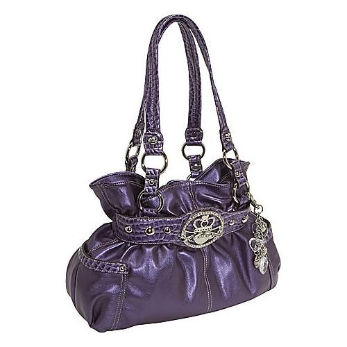 Purple Kathy van Zeeland bag. My buckle is a tad different, but ...