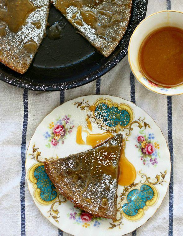 buckwheat baby with salted caramel | Buckwheat Recipes | Pinterest