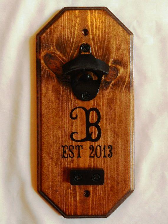 bottle opener magnet catcher diy crafts. Black Bedroom Furniture Sets. Home Design Ideas