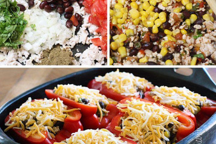 STuffed bell peppers | r e c i p e s. | Pinterest