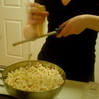Parmesan and Black Truffle Oil Popcorn