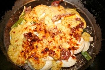 Baked Eggs With Prosciutto And Asiago Cream Recipes — Dishmaps