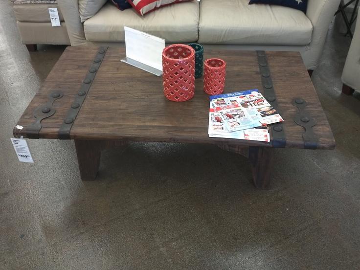 Barn Door Coffee Table World Market Living Room Pinterest
